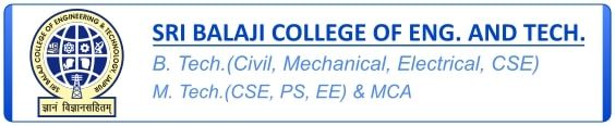 Visit Sri Balaji College of Engineering and Technology, Jaipur